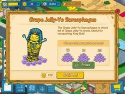 Grape jelly-yo sarcophagus
