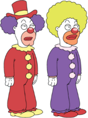 Character-clowns