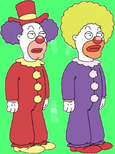 Character-clowns