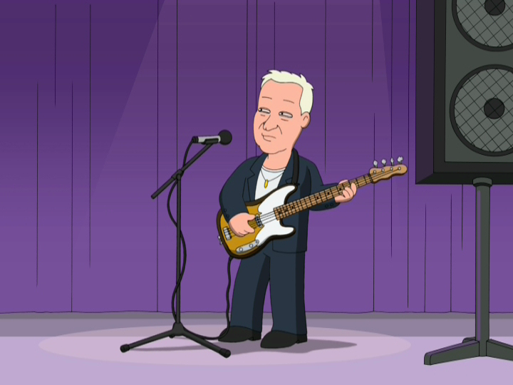 sting family guy fields of gold