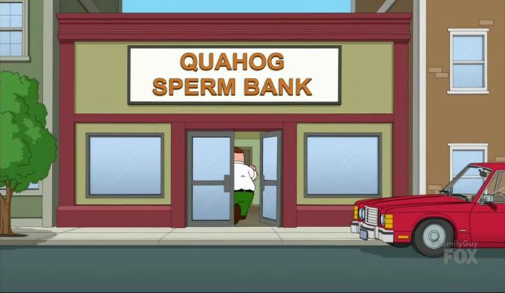 Family guy sperm bank