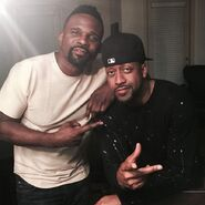 Darius McCrary and Jaleel White (Reunion) 2017