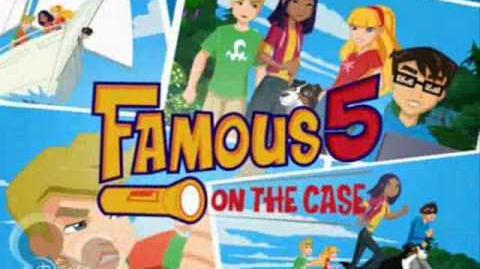 Famous 5 on the case theme