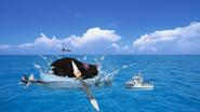 Ratzilla In The Ocean