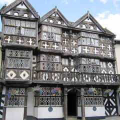 Likewise, there are Tudor buildings dispersed throughout the Georgian Quarter.