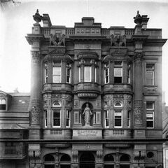 The historical Blithebeth Coal Exchange, parading its elaborate craftsmanship and intricate stone façade very expressly.