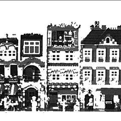 Orange Row, Ambrose Hill, 1931