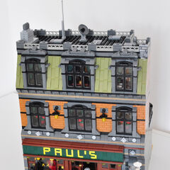 Paul's, a book shop that was renowned for being painted on many occasions - this photo was just before Halloween