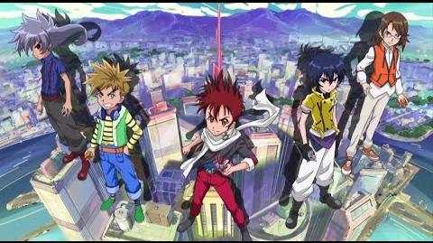 "B-Daman Fireblast - Opening Theme ""Ready Aim Fireblast!"" 1080pᴴᴰ"