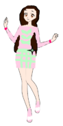 Madeline Pink Galaxy Coord