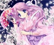 Sakura after transfrom into cure sakura