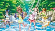 Erika, Hibiki, Kanade, Itsuki