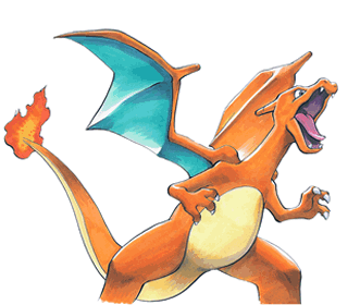 how to draw charizard flying