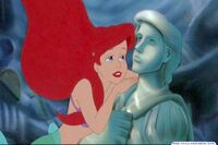 Ariel and Statue