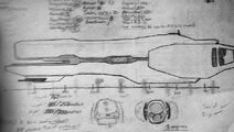 Blue Prints of the Deliverance Class Frigate