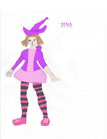 Samurai234 Zena by cursedironfist7