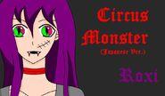 HalfmoonDragon017 Roxi Circus Monster