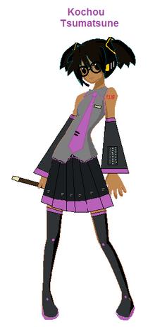 TheZinGlassesgirl Tsumatsune Kochou