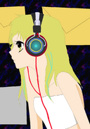 AE when she was an MP3 file