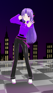 VY2Vocaloid Yui Kokushine Full body