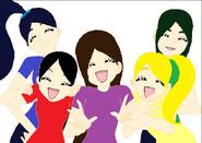 Diamond Rainbow Precure Group