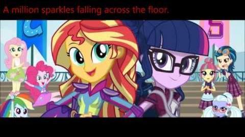 MLP EG Friendship Games Soundtrack 4 - Dance Magic Lyric Video