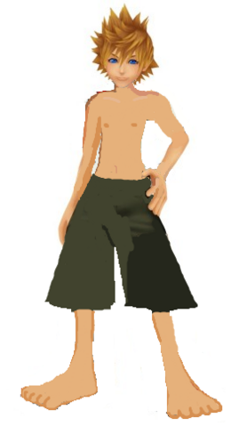 File:Roxas swimming trunks outfit by 9029561-d4te9yn.png