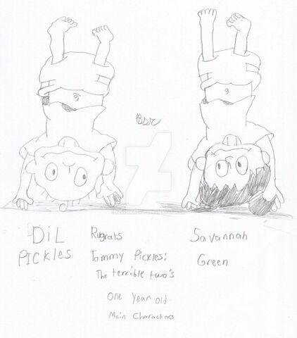 File:Dil and Savannah upside down sketch.jpg