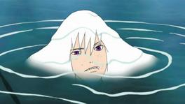 Suigetsu in water