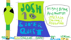 Josh10 SuperQuest Poster