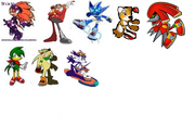 Sonic Riders Characters 2