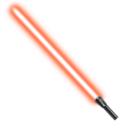 Orange lightsaber by mdtartist83-d9yyh95