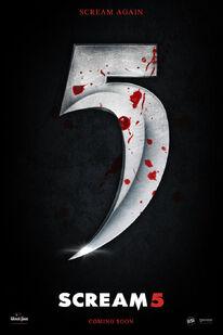Scream 5 teaser poster by andrewss7-d46rqjm