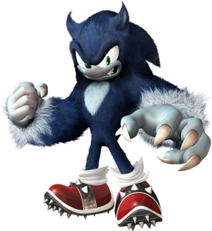 Sonic the werehog001