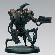 Dark Mechanicus war-walker daemitor
