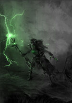 Necron lord cavern