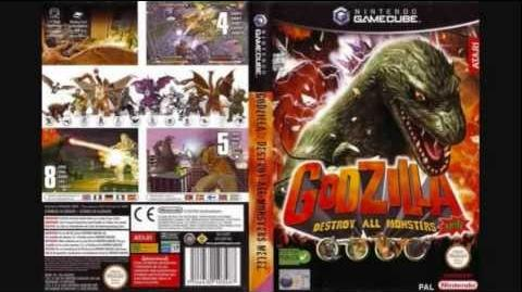 Godzilla DAM Melee OST - 4