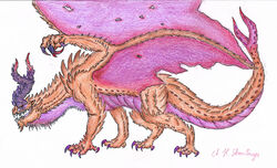 Gurodu Magala Artwork by Rathalosaurus rioreurensis