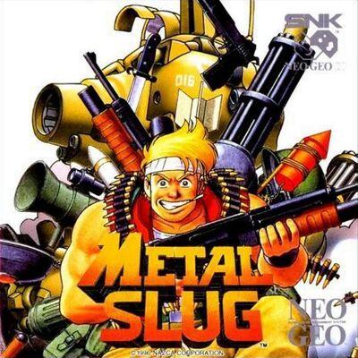 Metal Slug Neo-Geo CD Cover