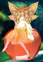 Kristinne as an Apple Fairy