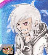 DannyP Cartoon Vs Anime 2 by xSunni Sou