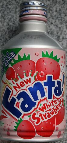 Fanta White Strawberry
