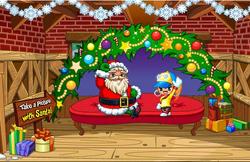 Santa claus on Fantage!