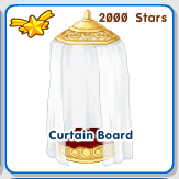 Curtain white