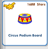 Circus podium thingy