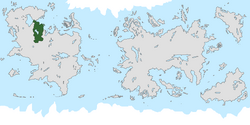 Location of United Tribes of Te Ao on the world map.