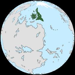 Location of Decoria on the globe.