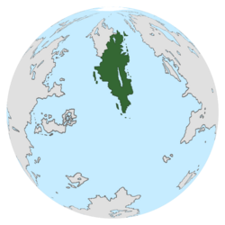 Location of Fordia on the globe.
