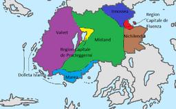 Assasynia Region Map