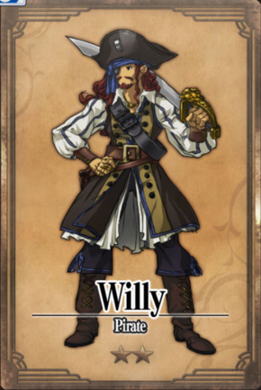 Willy - Pirate